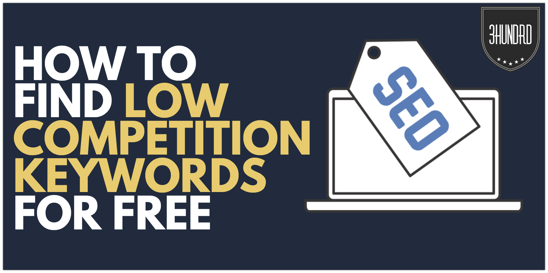 How to find unlimited low-competition affiliate keywords for free